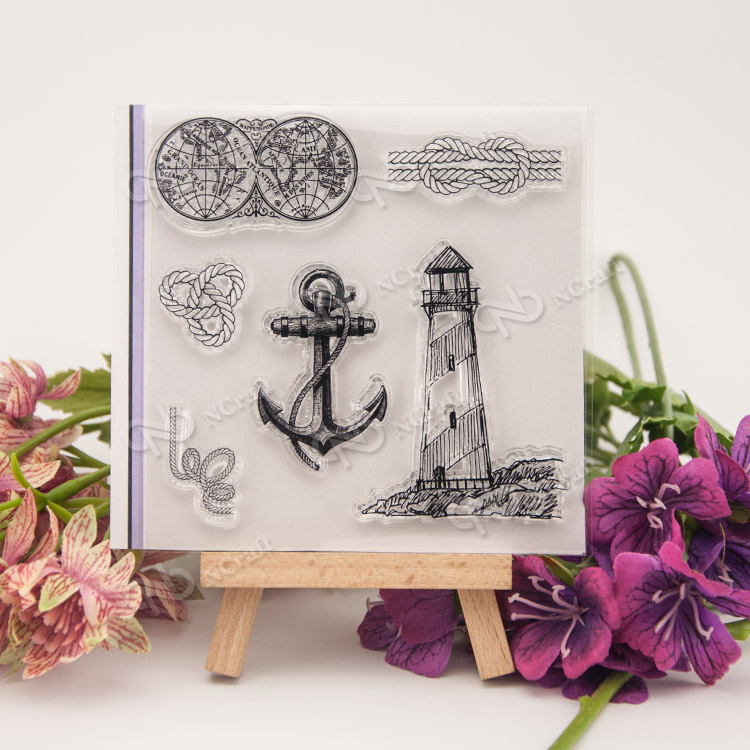 Lighthouse Transparent Clear Silicone Stamp/Seal for DIY scrapbooking/photo album Decorative clear stamp sheets about loving heart design transparent clear silicone stamp for diy scrapbooking photo album clear stamp christmas gift ll 278
