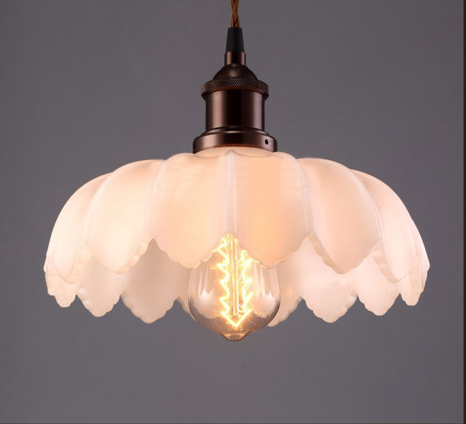 Compare Prices On Lotus Flower Pendant Light Online