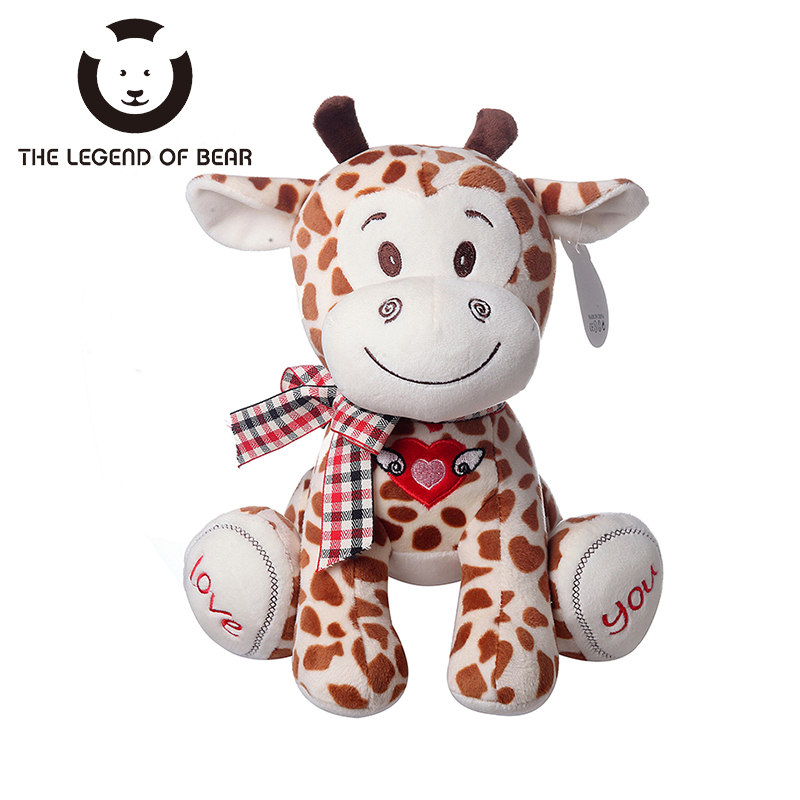 Spotted Monkey Deer Toy THE LEGEND OF BEAR Brand Tiny Short Tail Dolls Stuffed Plush Animals Toys For Kids Girls Anime Kawaii TY 30cm mickey mouse and minnie mouse toys soft toy stuffed animals plush toy dolls