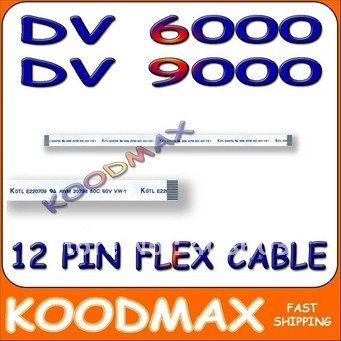 LOT X50pcs GOOD PRICE!! Brand New 20CM 12pin DV6000 DV9000 POWER BUTTON RIBBON CABLE AWM 20624 80C 60V VW-1 FLEX CABLES KOODMAX