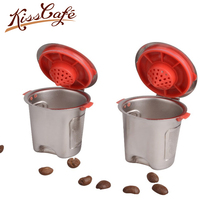 New 304 Stainless Steel Reusable Capsule Refillable Coffee Filter for Keurig K200/K300/K400/K500/K560 Machine