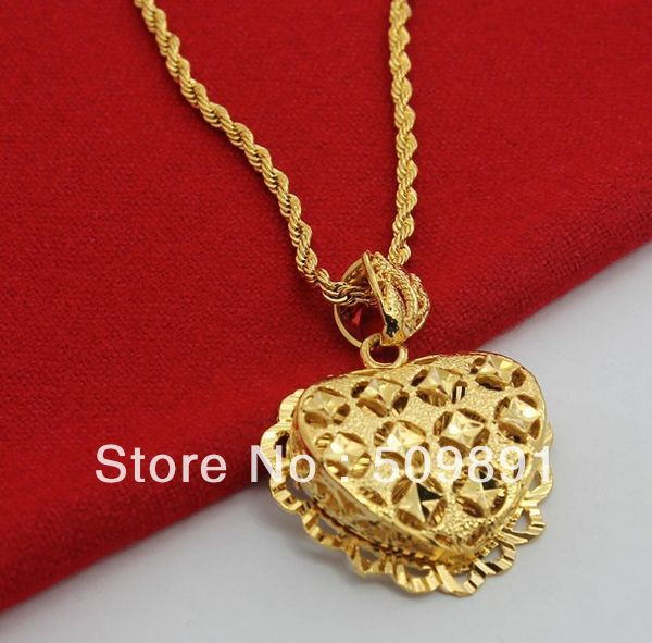 Nec1514 hot sale gold hearts pendant necklace with 4mm twisted chain nec1514 hot sale gold hearts pendant necklace with 4mm twisted chain jewelry design for women party aloadofball Gallery