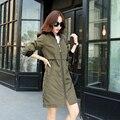 Autunm зима женщины плащ пальто приталенный длинная уличная одежда ветровка пэчворк свободного покроя верхняя одежда плащ пальто