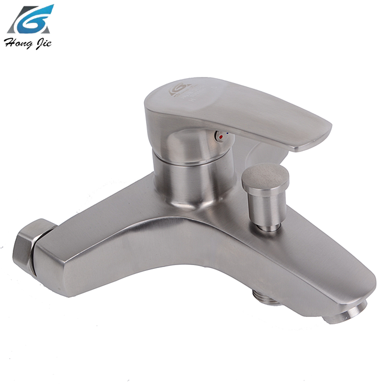 Bathroom Shower Bathtub Faucet Cold And Hot Water Mixer Tap Shower Faucets Stainless Steel Bathroom Accessories