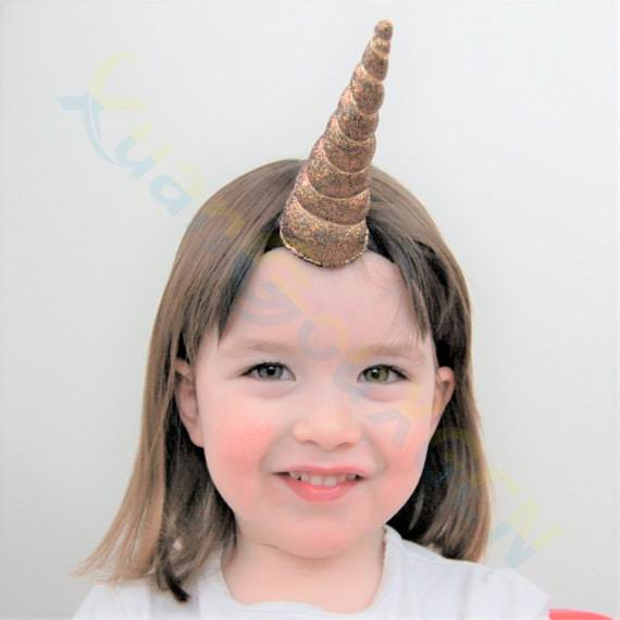 adult kid birthday party Easter decoration unicorn headdress hair hoops hairpin Halloween cosplay props Children's Day toy