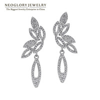 Neoglory auden chandelier pendientes de gota de la manera para las mujeres del encanto de la joyería 2017 nueva wedj qc