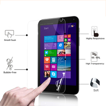 """HD LCD Anti-Scratches Display screen Protector Movie For HP Stream eight eight.zero"""" pill laptop Shiny display protecting movies with cleansing fabric"""