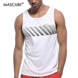 385609bcf8c0 MASCUBE 2017 Hot Search Men Tank Top Wear-Resisting Comfortable Running  Vest Yoga Fitness Gym Sports Summer Top Pro