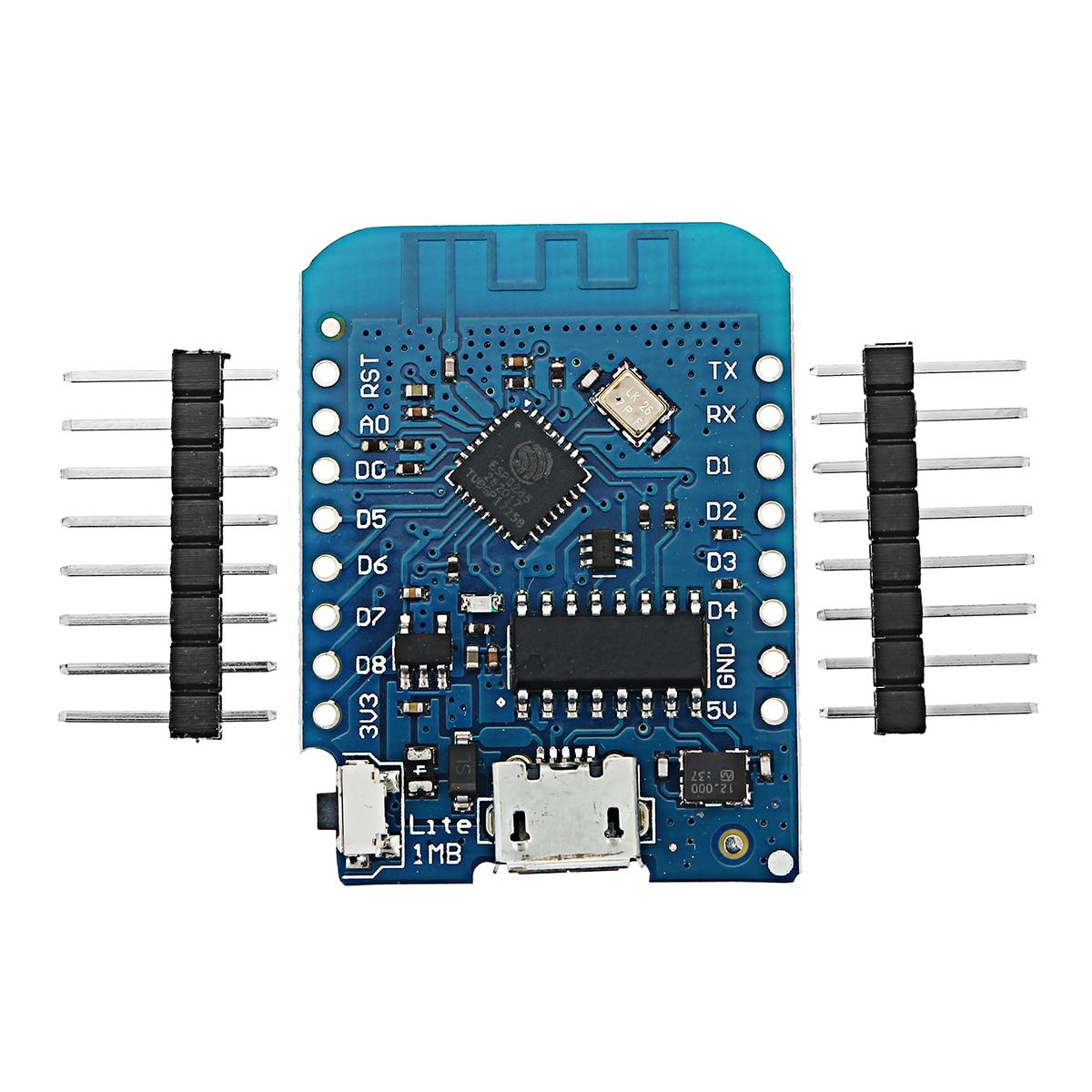 Pour WEMOS D1 Mini Lite V1.0.0 WIFI Internet De Choses Développement Conseil Basé ESP8285 1 MB FLASH