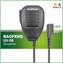 Two Way Radio Walkie Talkie Heavy Duty Handheld Shoulder Speaker Handheld Mic Microphone For Baofeng