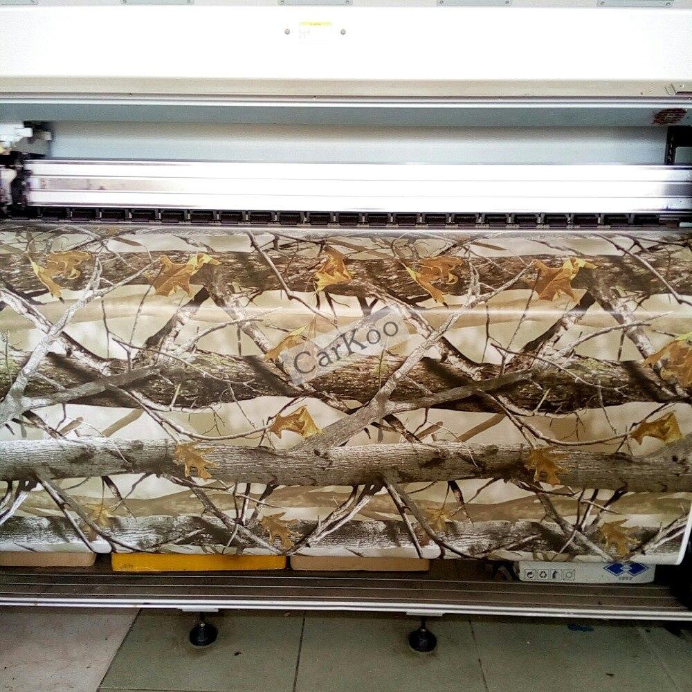Camo Vinyle Wraps Feuilles à Realtree, Bionic Camouflage Pattern Pour Wrap Style De Voiture Body Autocollant