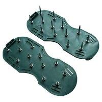 Quintal jardim Grama Cultivador Escarificação Arejador Gramado Unhas Sapatos Cultivador Ferramenta Ferramenta Arejador Gramado Quintal Jardim Sapatos Sandálias