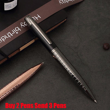 Free Shipping Hot Selling Sonnet Luxury Business Ballpoint Pen Good Quality Metal Signature Pen Buy 2 Pens Send Gift стоимость