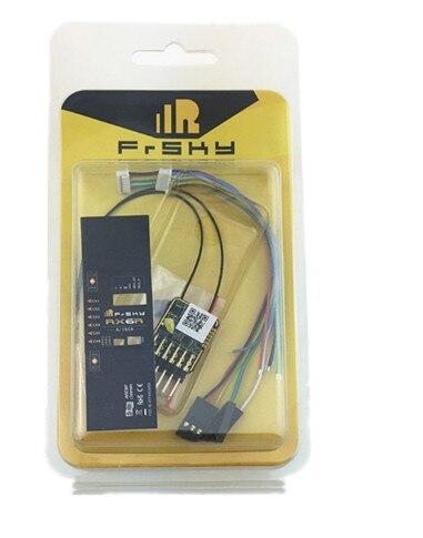 Chegada nova receptor de telemetria frsky rx6r 6/16 projetado para planadores ultra pequeno e super luz 6 pwm saída