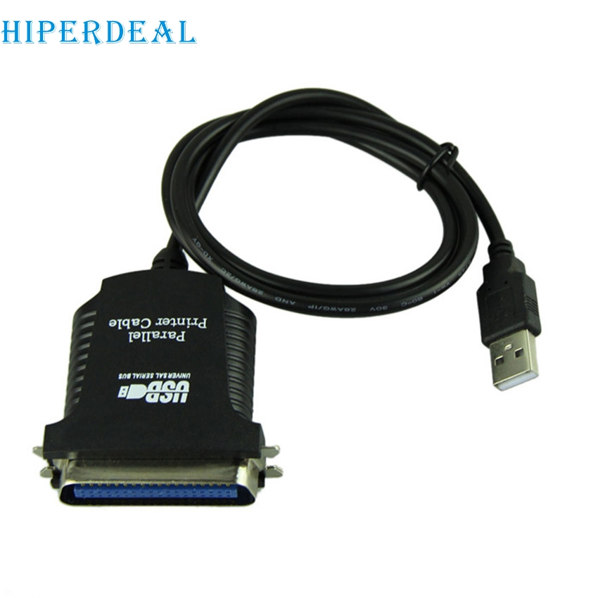HIPERDEAL E5 New USB To DB36 Female Port Parallel Printer Print Converter Cable LPT