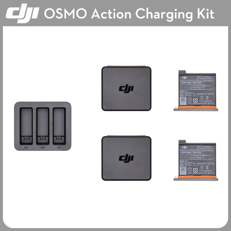 IN STOCK! Original DJI Osmo Action Charging Kit Battery Charger Hub Case Accessories PartsIN STOCK! Original DJI Osmo Action Charging Kit Battery Charger Hub Case Accessories Parts