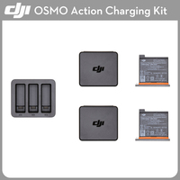 IN STOCK! Original DJI Osmo Action Charging Kit Battery Charger Hub Case Accessories Parts