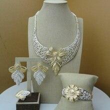 Yuminglai, disfraz de Dubái, conjuntos de joyería para mujer, FHK6601