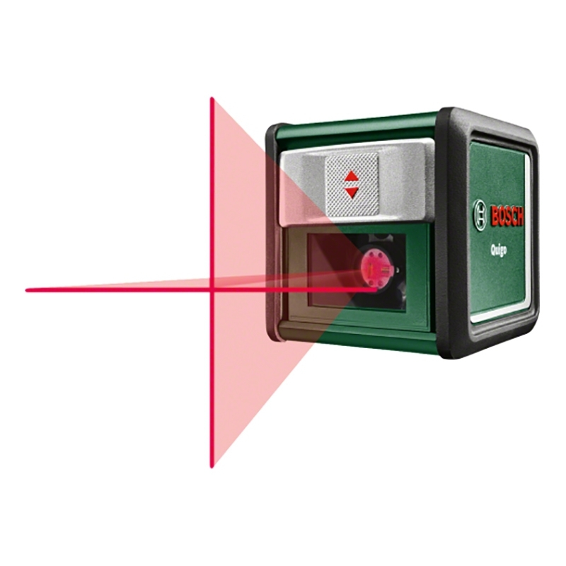 Laser level Bosch Quigo LLL (constructing vertical, горизонталь, cross, measurement accuracy 0,8mm-m)