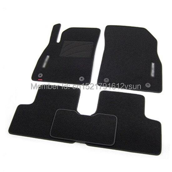smRKE For Chevrolet Cruze Car Floor Mats Carpets Customized Antiskid Hydrophil Fiber Front & Rear Full Set LHD RHD