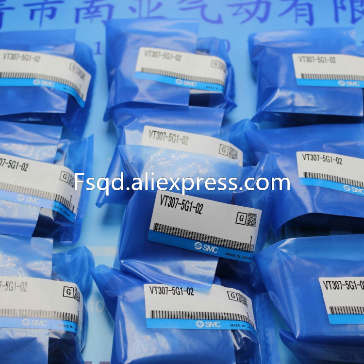 VT307-5G1-02 SMC solenoid valve electromagnetic valve pneumatic component VT series sy7220 5lze 02 smc solenoid valve electromagnetic valve pneumatic component air tools sy7000 series
