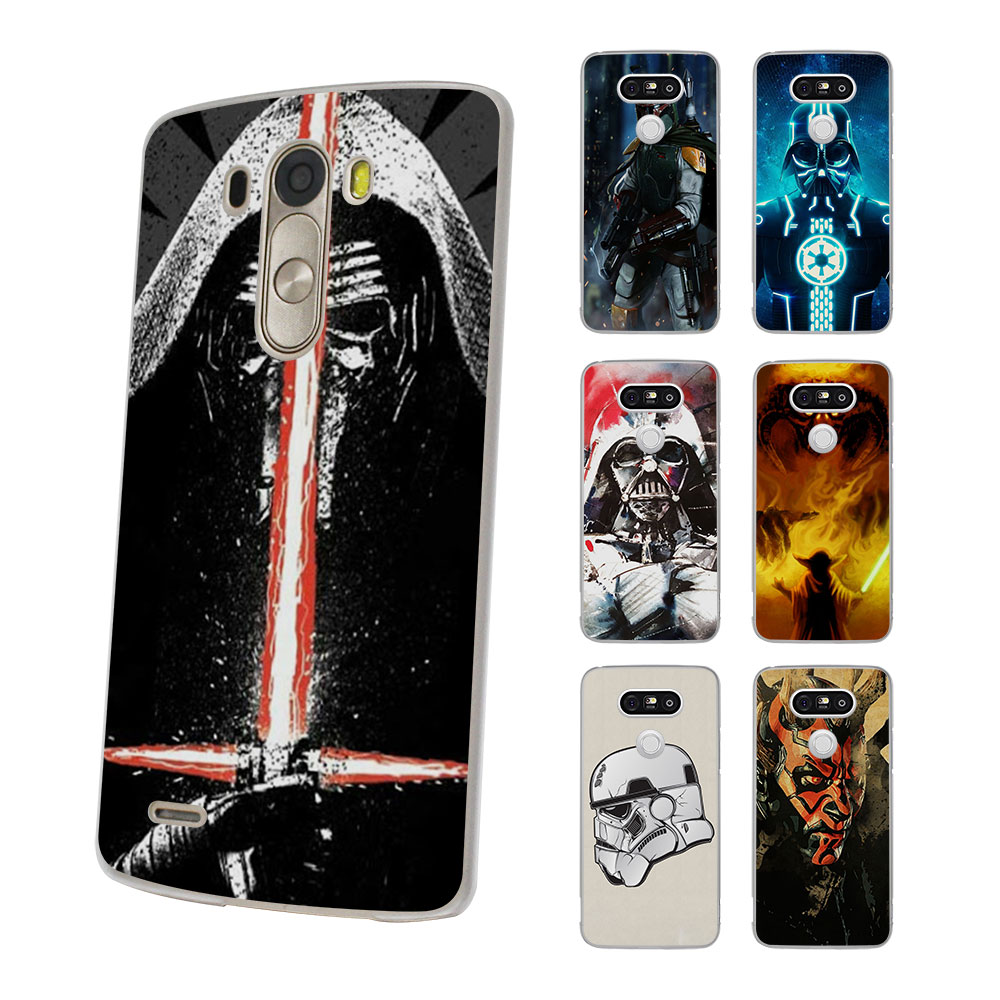 Star Wars Art Stormtrooper yoda DJ Style hard Thin clear Mobile phone shell Case for LG G6 G5 G4 K8 2017 K10 K5 V10 V20