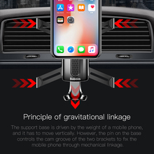 Baseus Spiderman Gravity Car Mount For Smartphone