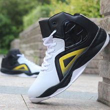 цены Basketball Shoes for Men Cushioning Basketball Sneakers Men's High-top Outdoor Sports Sneakers Breathable Athletic Shoes