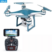 GPS Drone With Camera HD 1080P Wide Angle RC Helicopter Electric Degree Quadcopter 20Mins Flying Time Auto Return