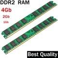 Оперативная память DDR2 2Gb 800 667 533 - 1Gb 2Gb 4Gb единственный рабочий стол Memoria барана РДР для Intel для памяти AMD DDR2 RAM - DDR2 800МГц 667Mhz 533Mhz