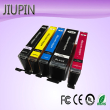 JIUPIN PGI 850 CLI 851 Edible Compatible Ink Cartridge for Canon IX6780 IX6880 IP7280 MG6380 MG5480 PGI-850 CLI-851 Printer