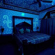100 sztuk zestaw świecące w ciemności gwiazdy świecące naklejki świecące zabawki powieść dla dzieci oświetlenie dla dzieci gwiazdy fluorescencyjne Party Glow Toy tanie tanio Blask w ciemności 12-15 lat 5-7 lat 13-24 miesięcy 2-4 lat Dorośli 8-11 lat 0-12 miesięcy eva2king Glow In the Dark Stars Luminous Stickers Glowing Toys