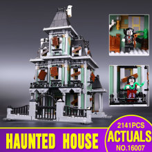 New LEPIN 16007 2141Pcs Monster fighter The haunted house Model set Building Kits Model Minifigure Compatible With
