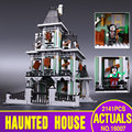 Nueva LEPIN 16007 2141 Unids Monster fighter The haunted house Modelo set Kits de Edificio Modelo Compatible Con juguetes Educativos 10228