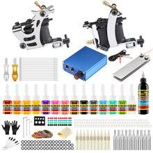 Stigma 2018 New Professional Tattoo Kits Complete Kit Set Two Machine Guns Makeup Tools Ink TK213