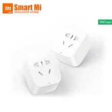 Kostenloser Versand Englisch Version Auf Lager Ursprüngliche Xiaomi Smart Buchsenstecker Bacic WiFi Drahtlose Fernbedienung EU US AU Buchse Adapter