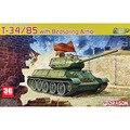 Dragon scale modelo escala vehicel escala modelo de tanque 6266 1/35 soviética T-34 / 85 tipo tanque leito