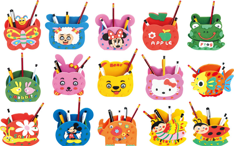 Online buy wholesale foam craft kids from china foam craft for Craft kits for kids in bulk