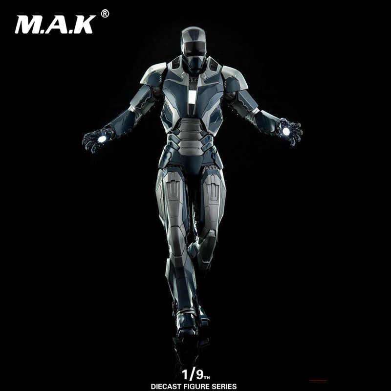1/9 Железный человек 1:9 металлический DFS005 MK40 Mark40 фигурка железного человека модель игрушки фигурку подарок