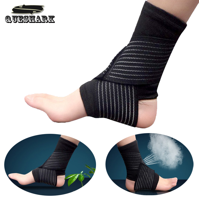 1pc Football Basketball Taekwondo Badminton Ankle Support Bandage Elastic Ankle Sprain Brace Wrap Straps Guard Protector Anklets Reputation First