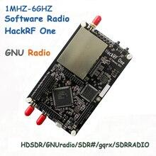 HackRF bir 1MHz 6GHz yazılım tanımlı radyo platformu geliştirme kurulu RTL SDR demo kurulu alıcı amatör radyo