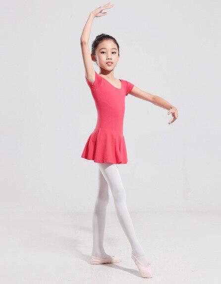 2-9 Years Children Kids Cotton Ballet Dance Wear Toddler Gymnastic Leotard Ballet Tutu Dress Dance Vestidos Costume For Girls