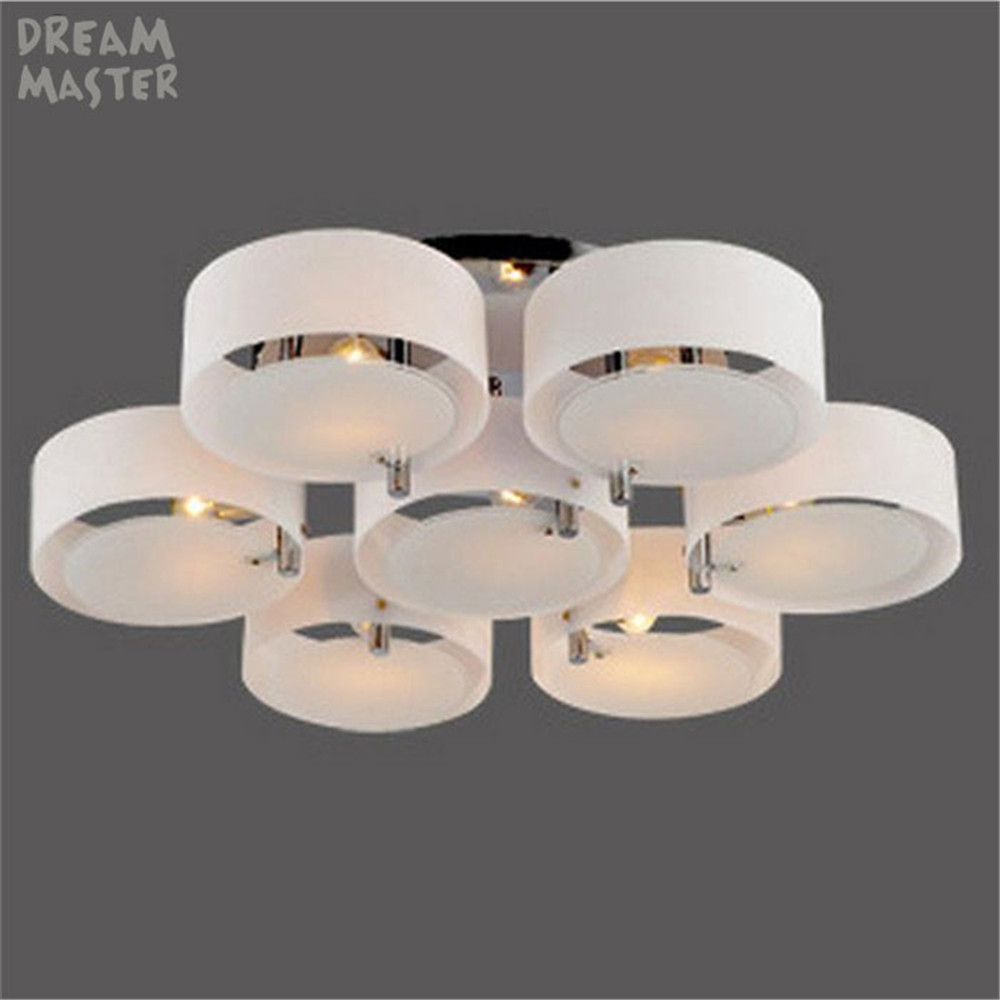Modern Glass  Chandeliers Light Platfon Led Stainless Stee Lamp surface mount Lights for Living Room E27 3 5 7 Light lustresModern Glass  Chandeliers Light Platfon Led Stainless Stee Lamp surface mount Lights for Living Room E27 3 5 7 Light lustres
