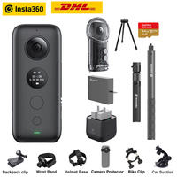 Insta360 One X Action Camera VR 360 Panoramic Camera for iPhone x xs Android 5.7K Video 18MP Invisible Selfie Stick Insta 360