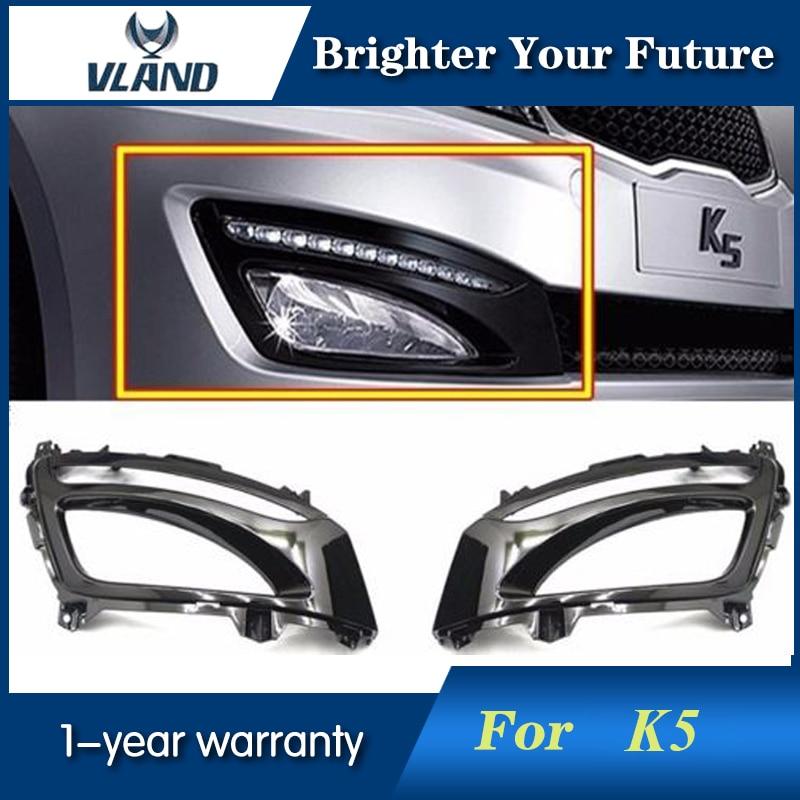 Car Styling For KIA Optima K5 2011~2013 LED Daytime Running Light DRL Day Lights Fog Lamp