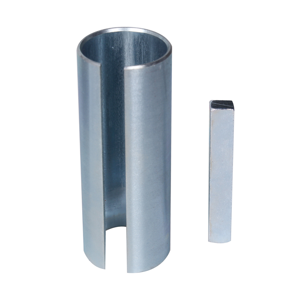 """1-1//8/"""" to 1-1//4/"""" inch 1//4/"""" Key Gas Engine Pulley Crank Shaft Sleeve Adapter"""