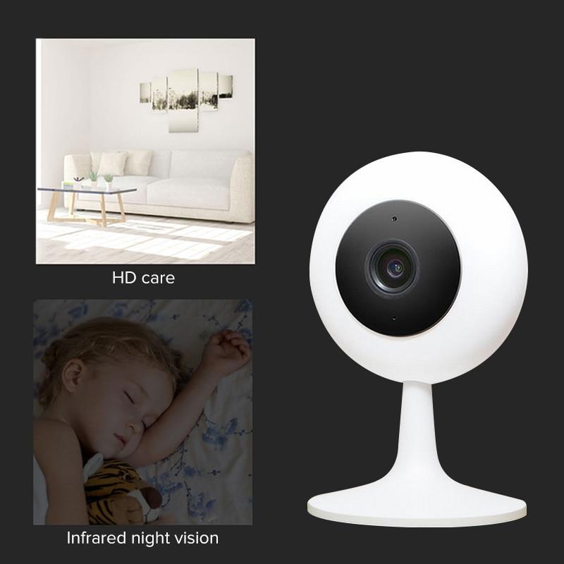 Xiao mi Xiaobai Câmera Popular Versão IP Sem Fio Wifi Câmera de Infravermelho Casa Inteligente 720 P HD CCTV Cam mi Kamara