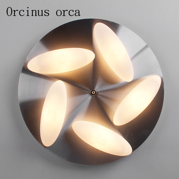Lámpara de techo de arroz nórdico, lámpara creativa de arte con personalidad para sala de estar, lámpara simple moderna de estilo europeo para comedor y dormitorio