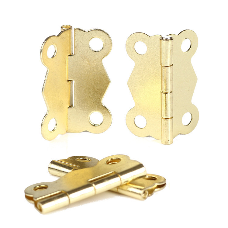 New Fashion 10pcs Door Butt Hinge Mini Iron Butterfly Hinges Cabinet Drawer Door Butt Hinge free shipping