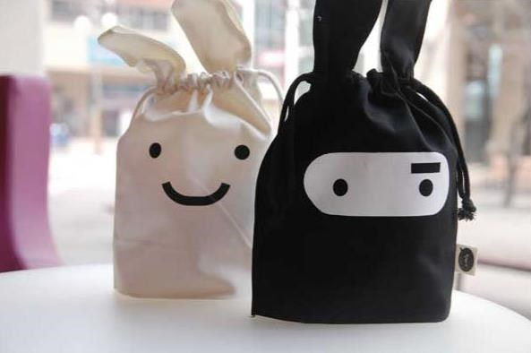 Aliexpress.com : Buy free shipping Ninja rabbit cute fabric pouch ...